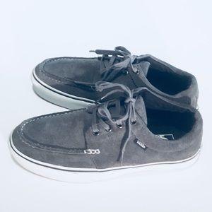 Vans Gray Suede